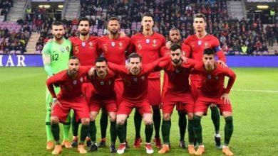 التشكيل الرسمي لمواجهة البرتغال ضد السويد
