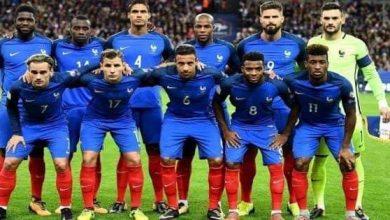 التشكيل الرسمي لمواجهة فرنسا ضد كرواتيا