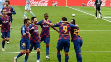 ملخص وأهداف مباراة برشلونة ضد سيلتا فيجو في الدوري الإسباني