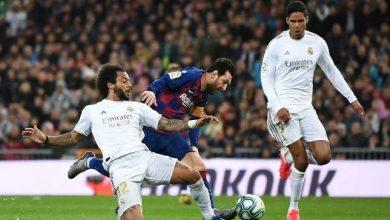 صورة موعد مباراة ريال مدريد ضد برشلونة والقنوات الناقلة