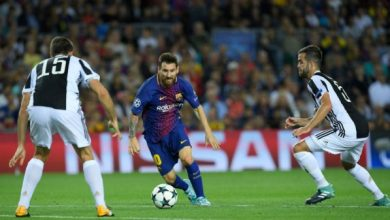 تشكيل برشلونة الرسمي ضد يوفنتوس بدوري أبطال أوروبا