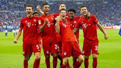 صورة نتيجة وأهداف مباراة بايرن ميونيخ ضد هيرتا برلين في الدوري الألماني