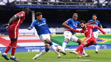 صورة شاهد هدف محمد صلاح اليوم في مباراة ليفربول وإيفرتون