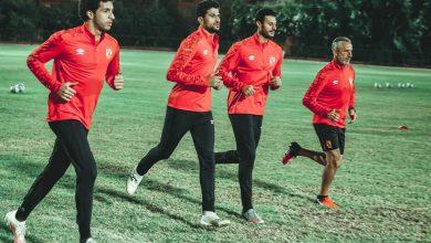 صورة مران الأهلي الأول في المغرب.. تدريبات بدنية للاعبين وميشيل يشرف على الحراس