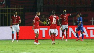 صورة ملخص وأهداف مباراة الأهلي ضد المقاولون العرب بالدوري