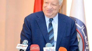 مرتضى منصور يؤازر اللاعبين في مران اليوم
