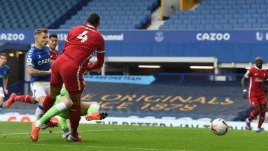 صورة ملخص وأهداف مباراة ليفربول ضد إيفرتون في الدوري الإنجليزي