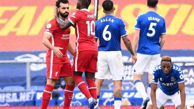 صورة محمد صلاح mo Salah يسجل هدفه ال100 في الدوري الإنجليزي