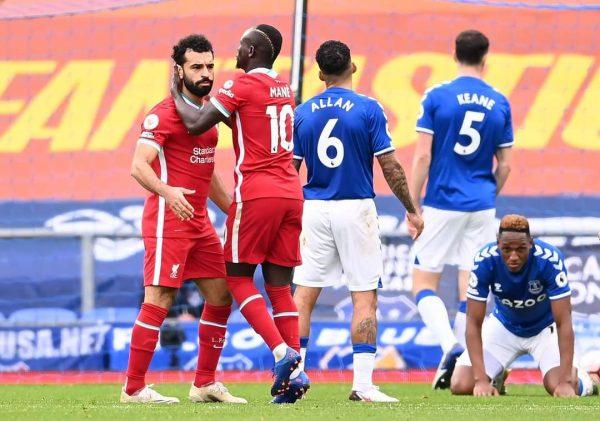 محمد صلاح mo Salah يسجل هدفه ال100 في الدوري الإنجليزي