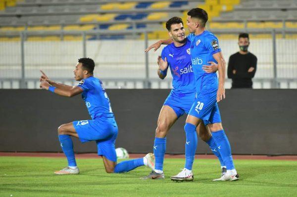 أشرف بن شرقي : سعيد بالفوز على الرجاء وننتظر مباراة العودة