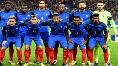 صورة ملخص وأهداف مباراة فرنسا ضد أوكرانيا في المباراة الوديه