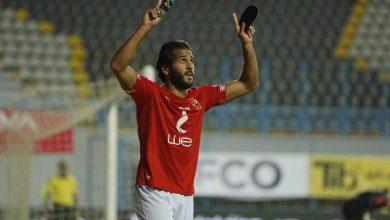 صورة فيديو هدف مروان محسن في مباراة الأهلي والوداد المغربي