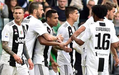 ملخص وأهداف مباراة يوفنتوس ضد هيلاس فيرونا في الدوري الإيطالي