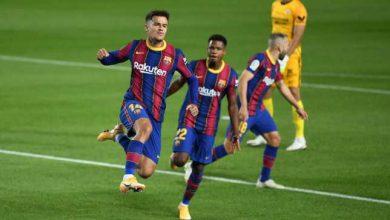 صورة التشكيل المتوقع لمباراة برشلونة ضد خيتافي والقنوات الناقلة