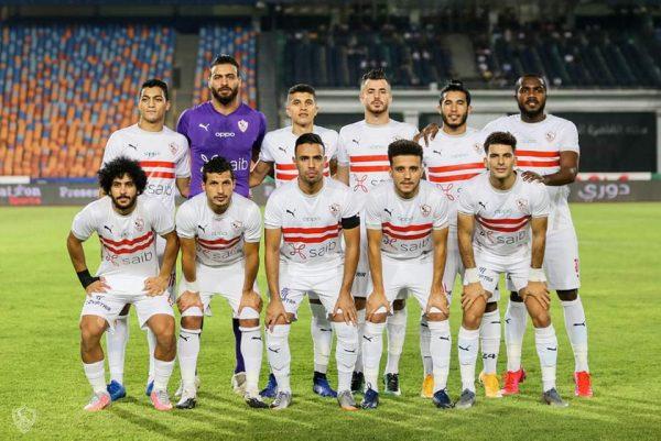 تشكيل الزمالك لمباراة الإسماعيلي في الدوري المصري