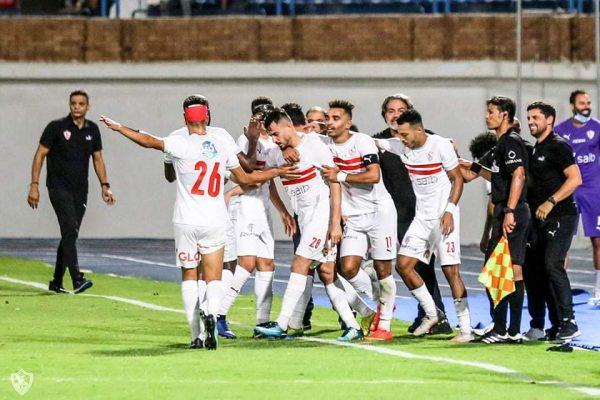 ملخص وأهداف مباراة الزمالك ضد الإسماعيلي في الدوري المصري