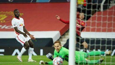 ملخص وأهداف مباراة مانشستر يونايتد ضد لايبزيج