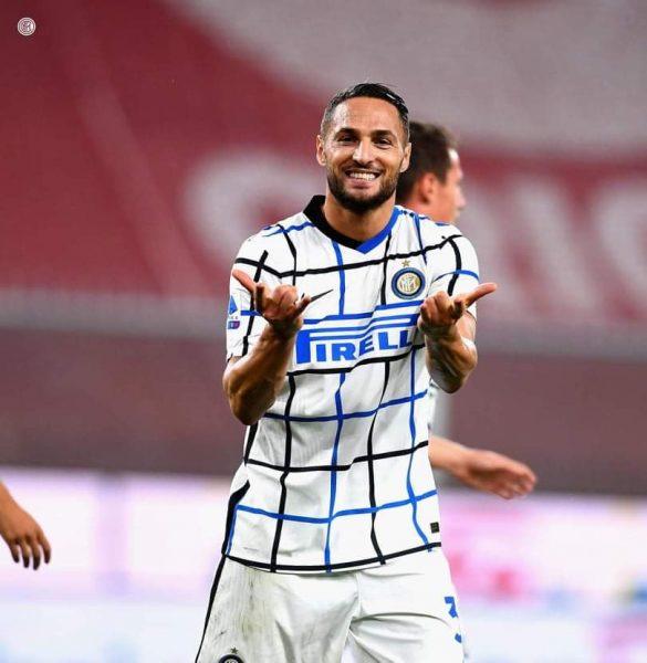نتيجة وأهداف مباراة انتر ميلان ضد جنوى في الدوري الإيطالي