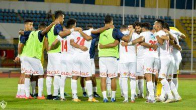 صورة التشكيل الرسمي لمباراة الزمالك ضد وادي دجلة في الدوري