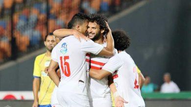 صورة التشكيل الرسمي لمباراة المصري والزمالك