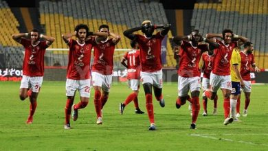 صورة التشكيل الرسمي لمباراة الأهلي ضد انبي في الدوري