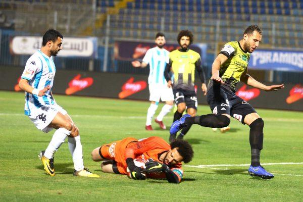 بث مباشر مشاهدة مباراة بيراميدز ضد المقاولون العرب اليوم 31-10-2020