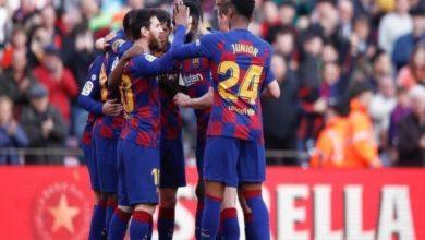 صورة التشكيل الرسمي لمباراة برشلونة ضد دينامو كييف في دوري أبطال أوروبا