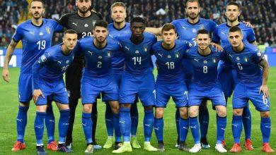 صورة التشكيل الرسمي لمنتخب إيطاليا ضد منتخب إستونيا وديا
