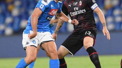 صورة بث مباشر مشاهدة مباراة نابولي ضد ميلان اليوم 22-11-2020