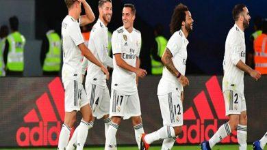 التشكيل الرسمي لمباراة ريال مدريد ضد إنتر ميلان في دوري أبطال أوروبا