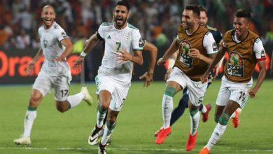 صورة التشكيل الرسمي لمنتخب الجزائر ضد منتخب زيمبابوي في تصفيات أمم إفريقيا