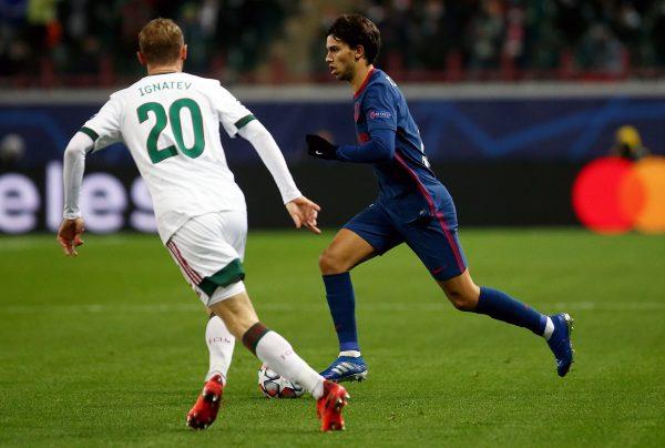 ملخص وأهداف مباراة لوكوموتيف موسكو ضد أتلتيكو مدريد في دوري أبطال أوروبا
