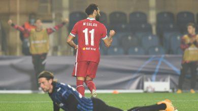 فيديو هدف محمد صلاح اليوم في مباراة ليفربول وأتالانتا