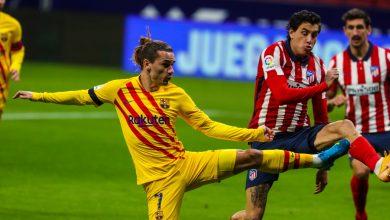 صورة أهداف مباراة برشلونة وأتلتيكو مدريد في الدوري الإسباني