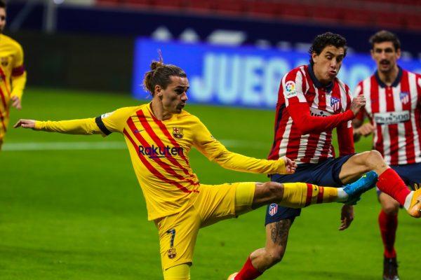 أهداف مباراة برشلونة وأتلتيكو مدريد في الدوري الإسباني