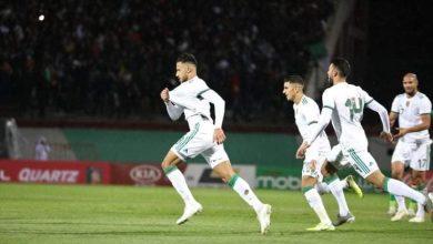 صورة التشكيل الرسمي لمباراة الجزائر ضد زيمبابوي بتصفيات أمم إفريقيا