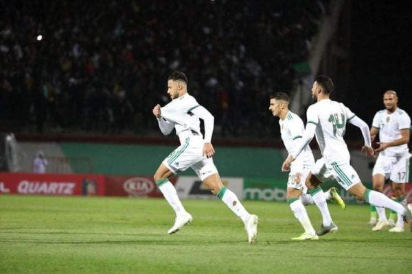 التشكيل الرسمي لمباراة الجزائر ضد زيمبابوي بتصفيات أمم إفريقيا