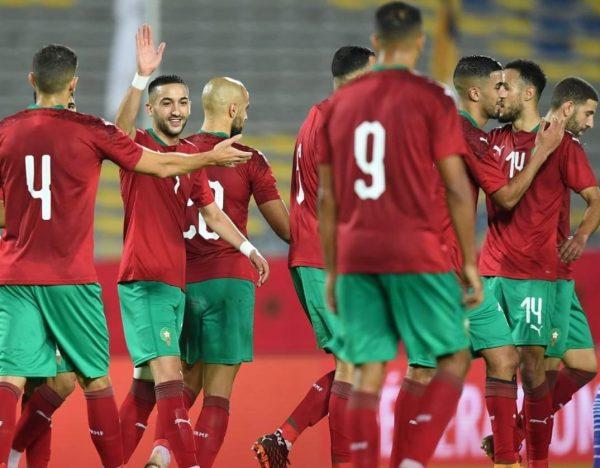 ترتيب مجموعة المغرب بعد الفوز على أفريقيا الوسطى في تصفيات أمم أفريقيا