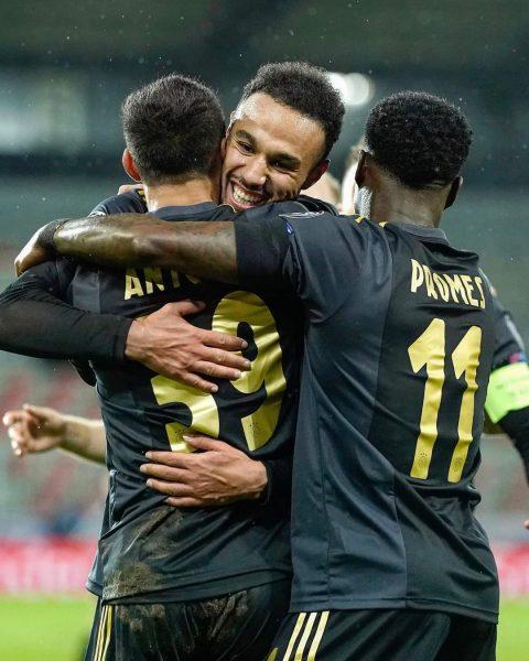 موعد مباراة أياكس ضد ميدتييلاند في دوري أبطال أوروبا