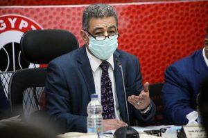 د/ مجدي أبو فريخة رئيس اتحاد كرة السلة