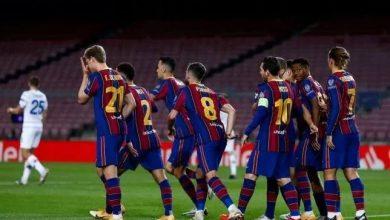 نتيجة مباراة برشلونة ضد دينامو كييف في دوري أبطال أوروبا
