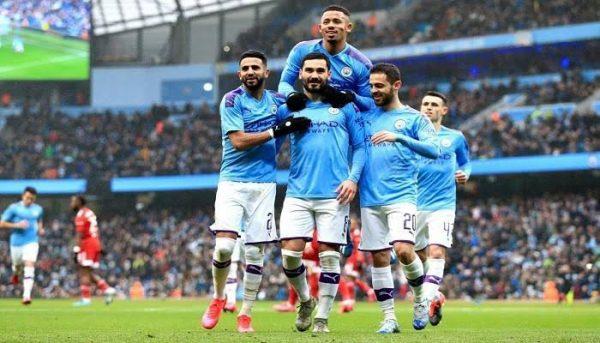 أهداف مان سيتي ضد أولمبياكوس في دوري أبطال أوروبا