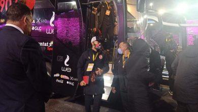 صورة فريقي الزمالك والأهلي يصلان ستاد القاهرة استعدادا لنهائي دوري أبطال أفريقيا