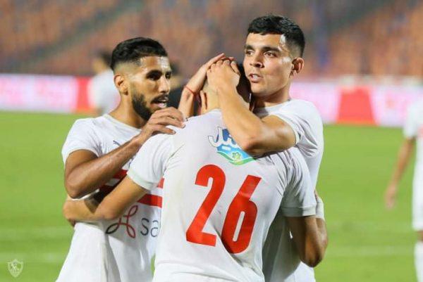 أهداف مباراة الزمالك ضد الرجاء المغربي في دورى ابطال افريقيا