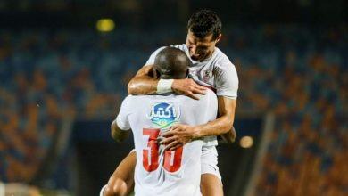 صورة أهداف مباراة الزمالك ونادي مصر في كأس مصر