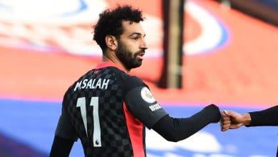 شاهد أهداف محمد صلاح في مرمي كريستال بالاس بالدوري الإنجليزي