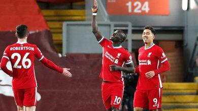 شاهد هدف ساديو ماني الأول في مباراة ليفربول وويست بروميتش