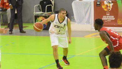 عمر جابر لاعب مصر في بطولة أفريقيا