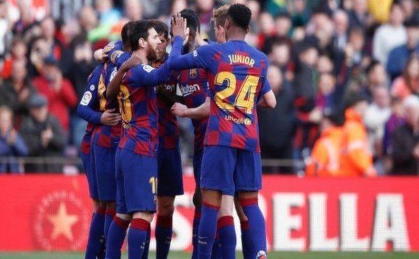 نتيجة مباراة برشلونة ضد هويسكا في الدوري الإسباني