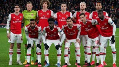 تشكيل مباراة أرسنال ضد ساوثهامبتون في كأس الإتحاد الإنجليزي
